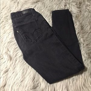 🖤❣️FADED BLACK LEVIS SKINNY JEANS